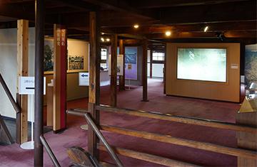 ↑開成館2階風景。