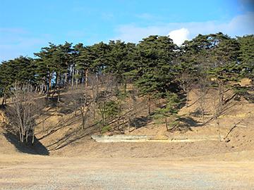 陸上自衛隊高森訓練所になっている出磬山(でけいやま)
